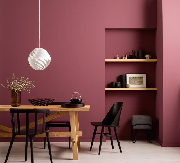 دهانات درجات اللون الكشمير في الدهانات للحوائط