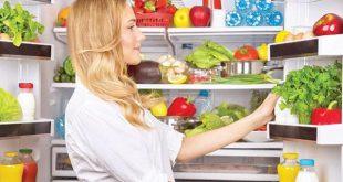 ضبط درجة حرارة الثلاجة