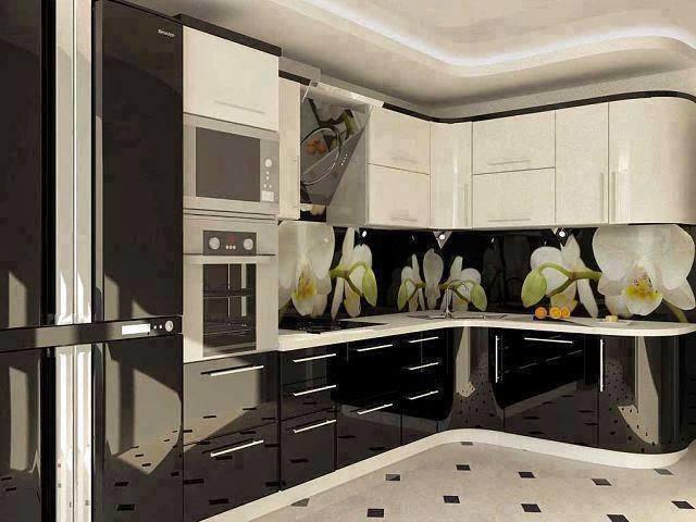 مطبخ الومنتال ابيض في اسود مدونة تاسكتي